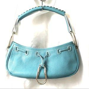 BCBGirls Bags - Bcbgirls blue leather handbag